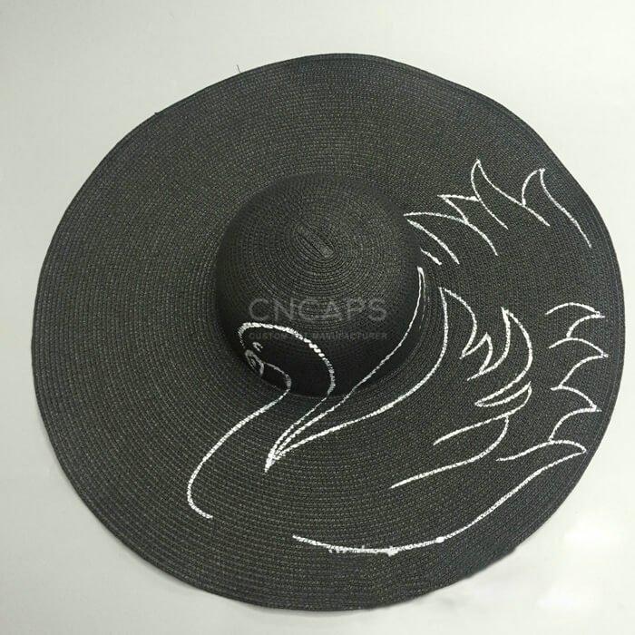 beach hat painting