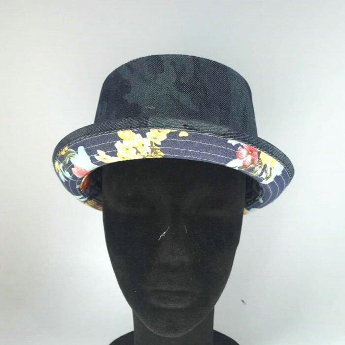 Floral Print Tropical Fedora Hat
