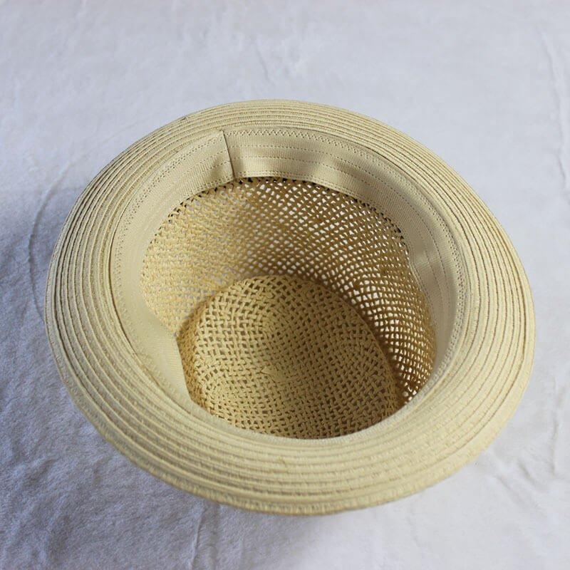Straw Pork Pie Hat