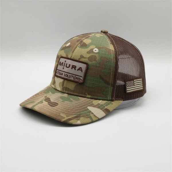 Military trucker cap