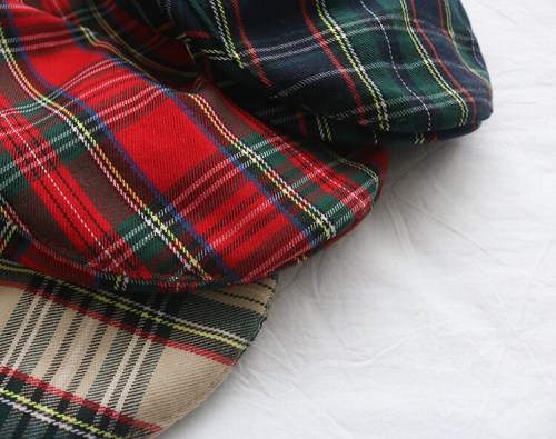 wholesale custom tartan hat