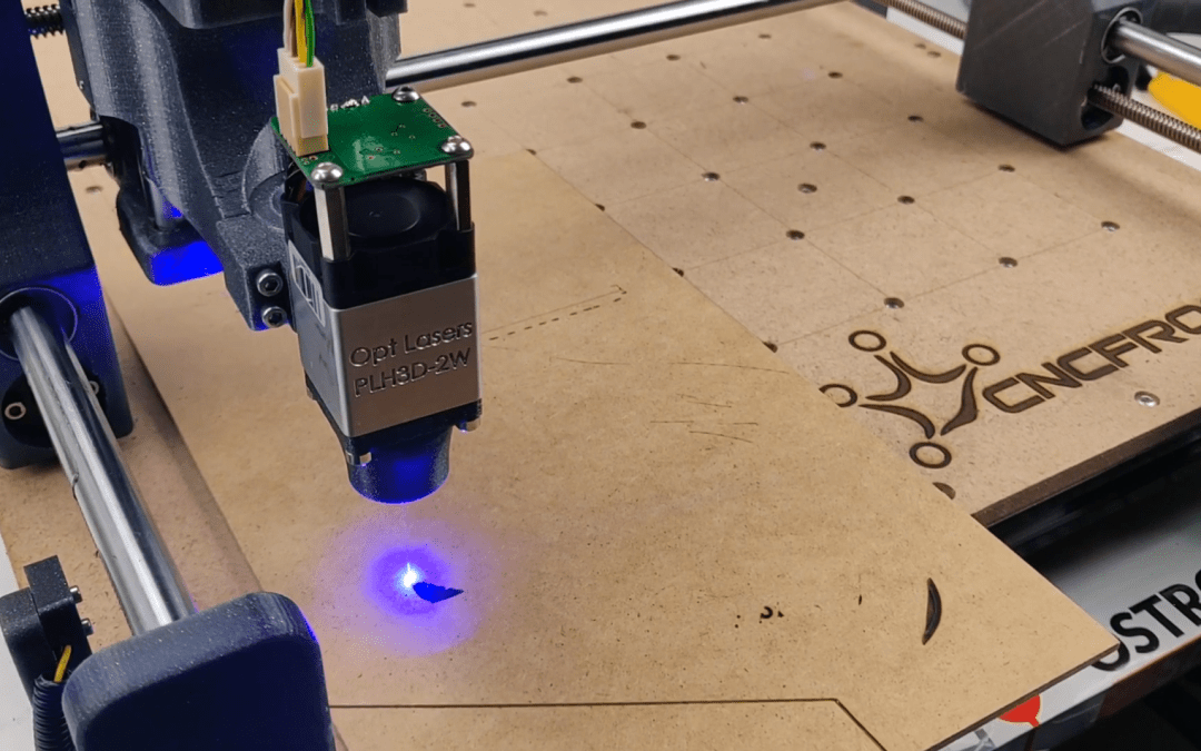 CNC Frog with laser