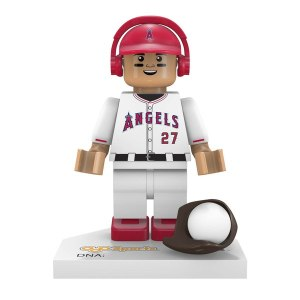 Los Angeles Angels Mike Trout OYO Sports Generation 5 Mini Figurine