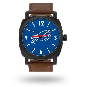 Men's Buffalo Bills Sparo Brown Personalized Strap Watch