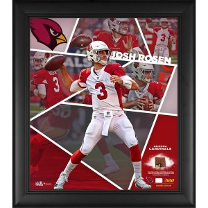 Arizona Cardinals Josh Rosen Fanatics Authentic Framed 15