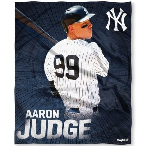 New York Yankees Aaron Judge The Northwest Company 50'' x 60'' Silk Touch Players Throw