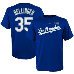 Youth Los Angeles Dodgers Cody Bellinger Outerstuff Royal 2018 World Series