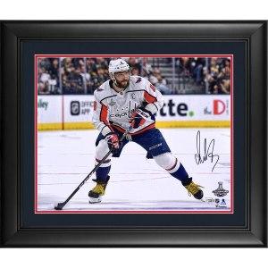 Autographed Washington Capitals Alex Ovechkin Fanatics Authentic Framed 16