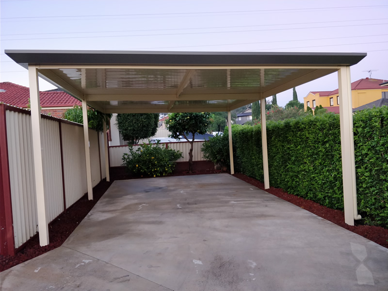 Freestanding Carport At Blacktown CNC Home Additions