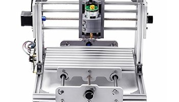 CNC Router Engraving Machine with ER11 and 5mm extension rod