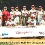 50+ Senators Championship Team Photo