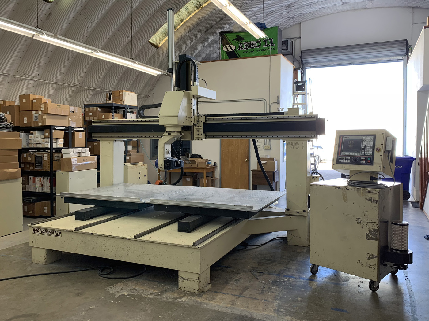 Motionmaster 5 Axis CNC Router E509 04