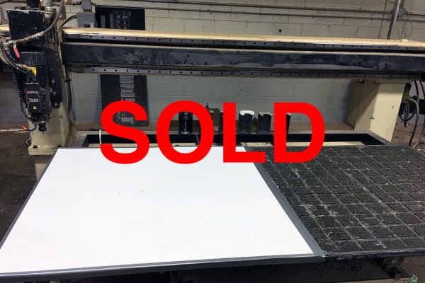 Motionmaster 5 Axis CNC router C476 sold