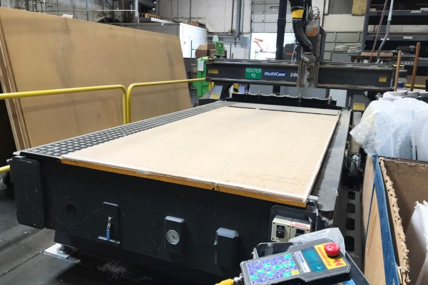 Multicam 3 Axis CNC Router C559 Featured