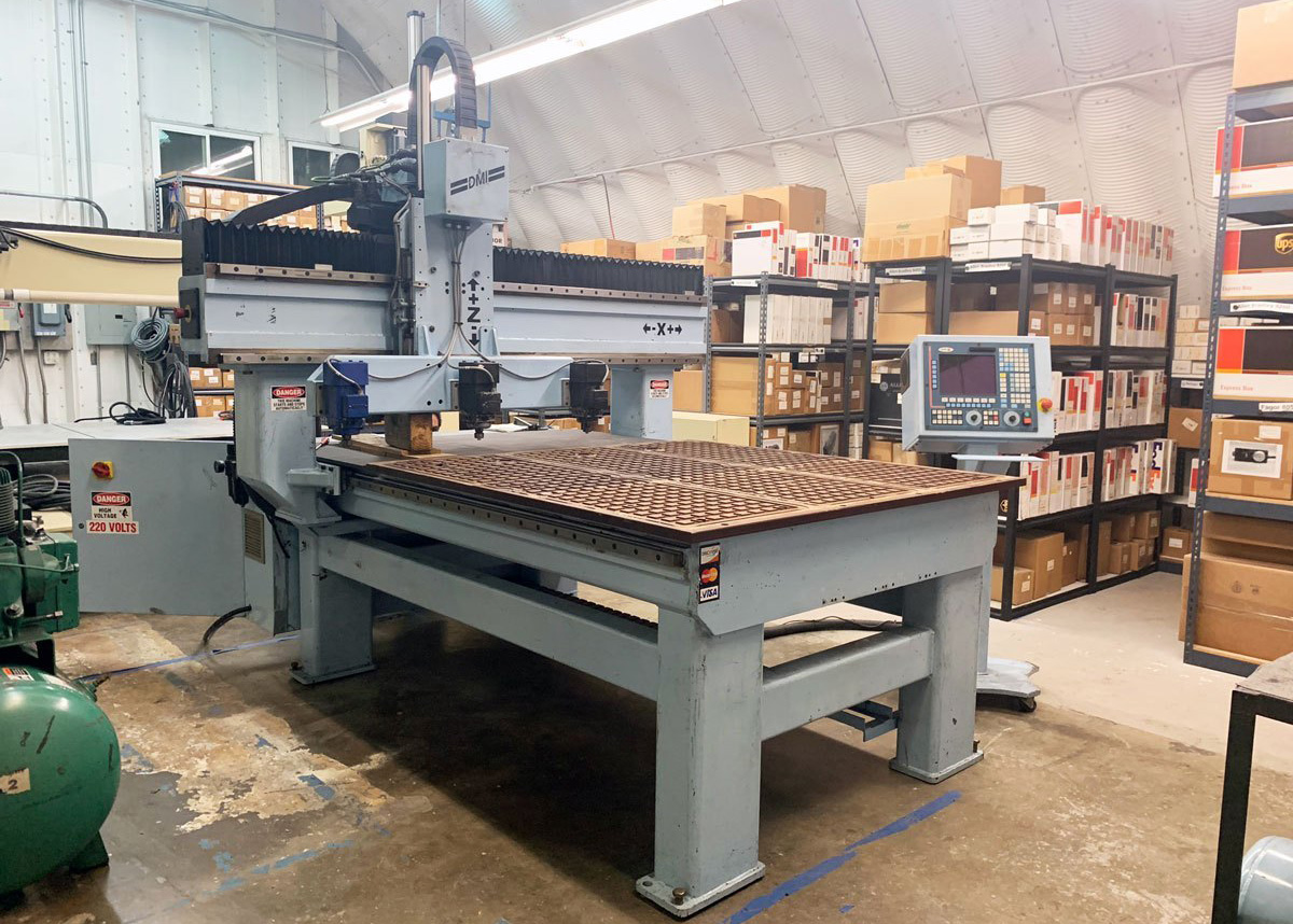 3 Axis DMS CNC Router C567