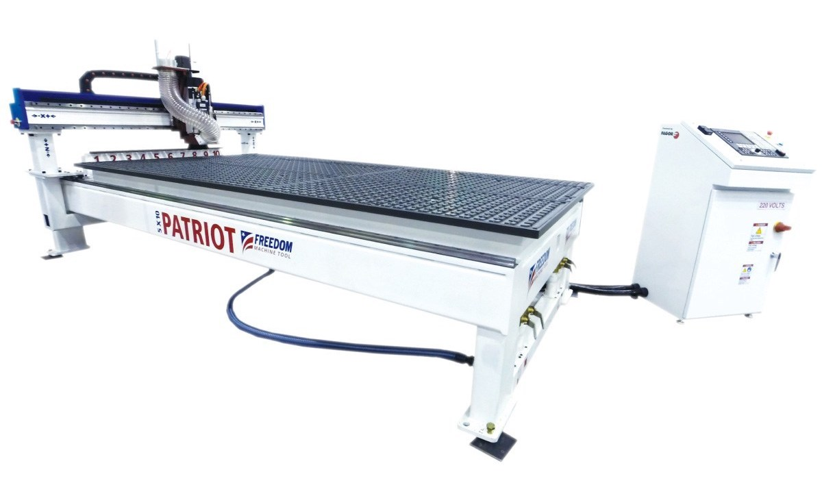 Freedom Machine Tool Patriot 3 Axis CNC Router