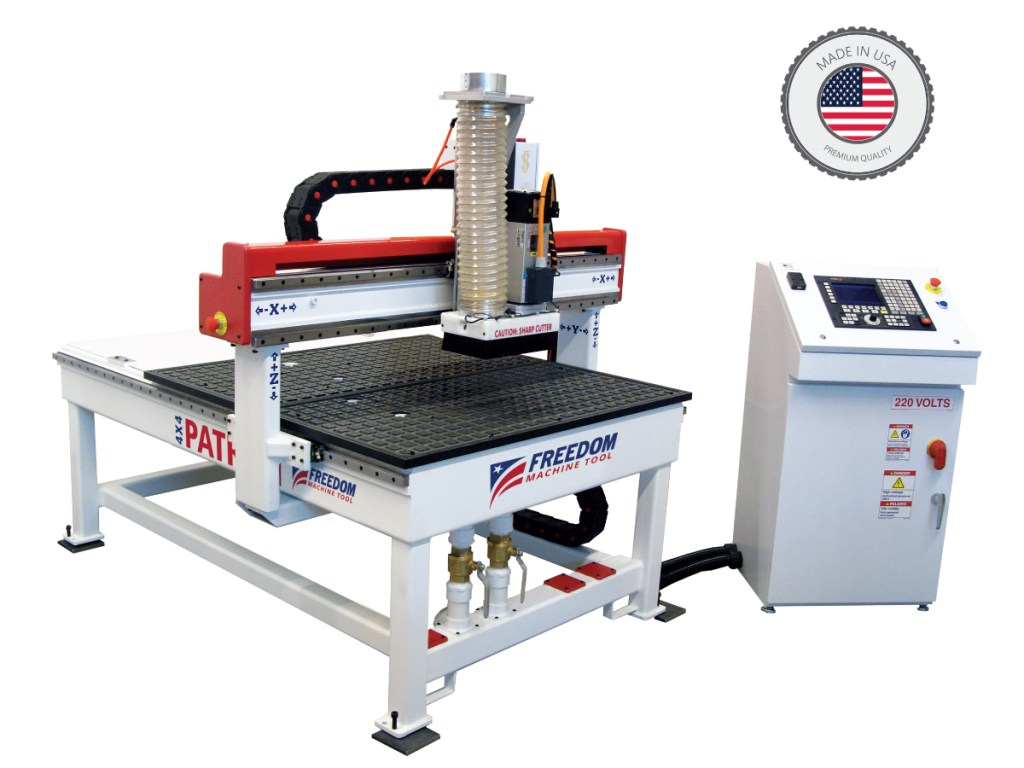 FMT Patriot 3 axis CNC router 4x4