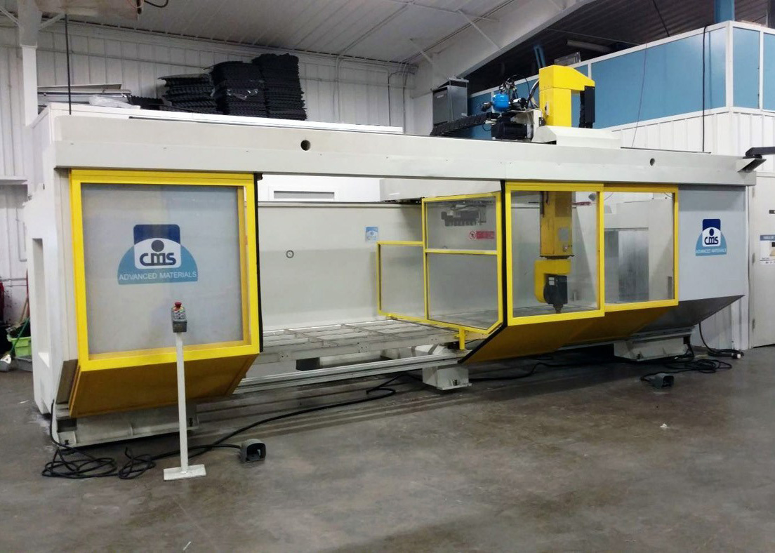 CMS 5 Axis CNC Machine E585