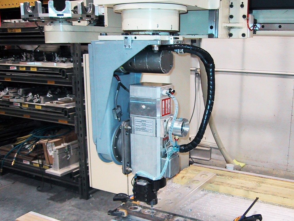 Motionmaster 5th Axis Spindle Head Retrofit
