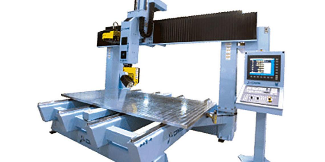 DMS 5 Axis CNC Machine