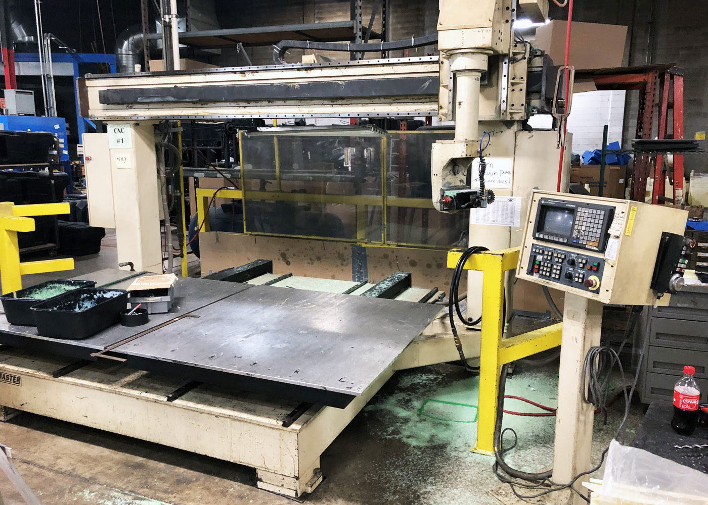 Motionmaster 5 Axis CNC Router E601