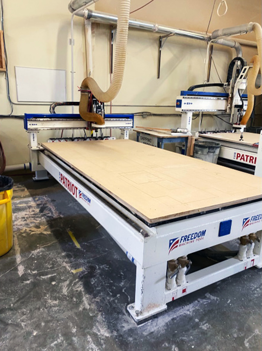 FMT Patriot 3 Axis CNC Router C635