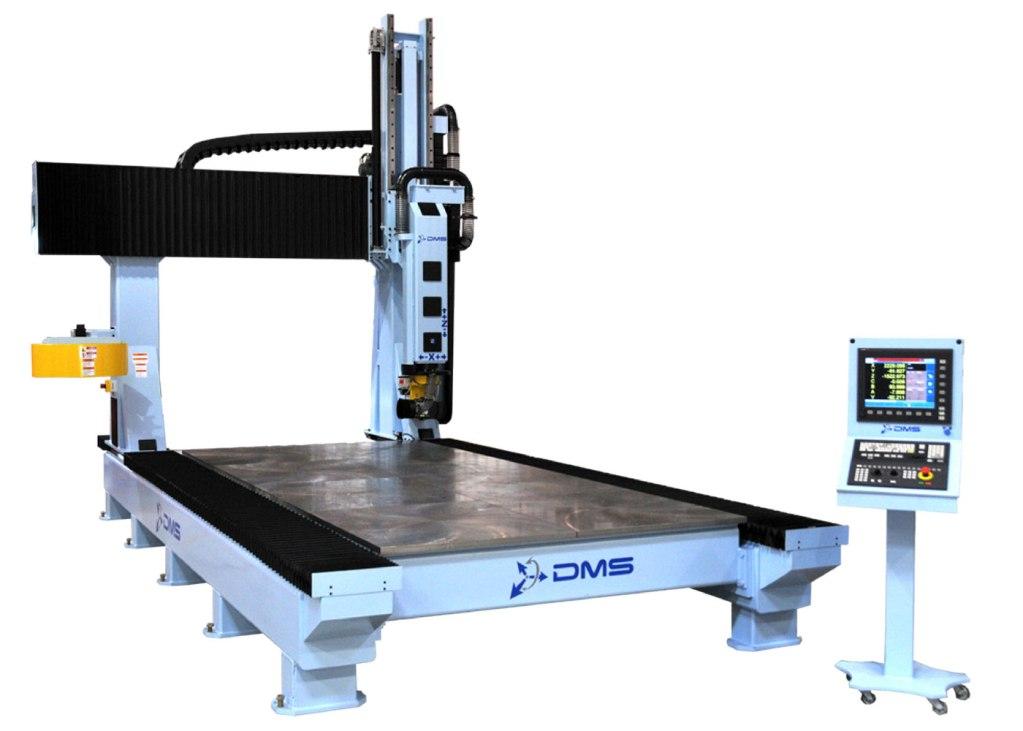 DMS 5 Axis Large Format Gantry CNC Machine 2