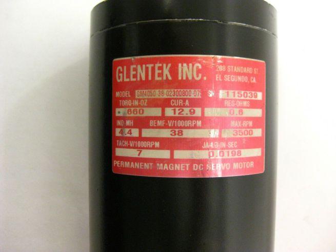 Glentek GM4050 38 02300800 075 Servo Motor 323233927254 5
