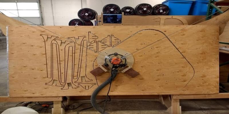 Maslow 4x8 CNC router