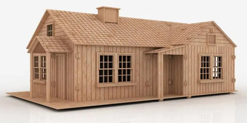 CNC Projects that Sell House Miniature