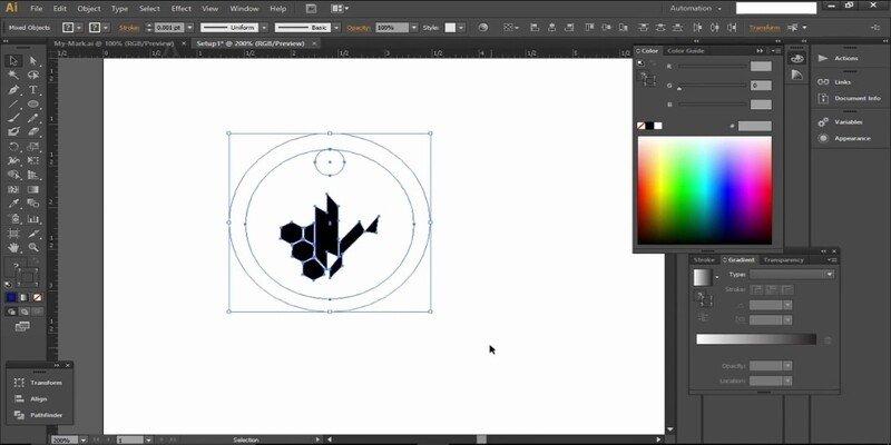 Adobe Illustrator laser engraving software