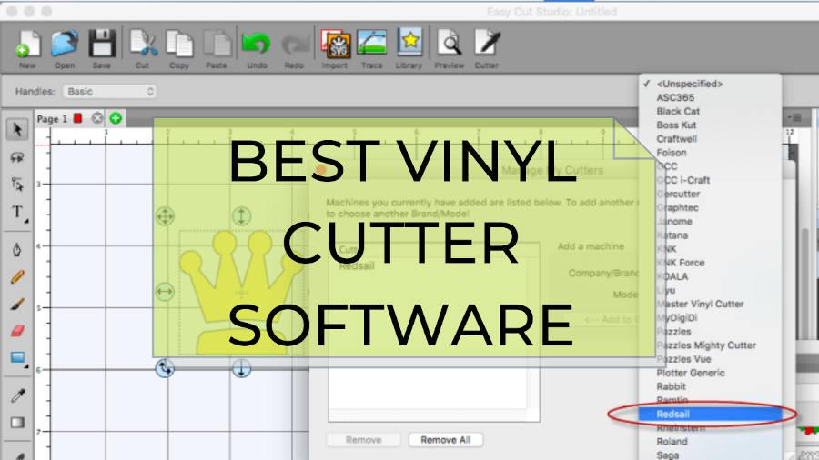 best vinyl cutter software