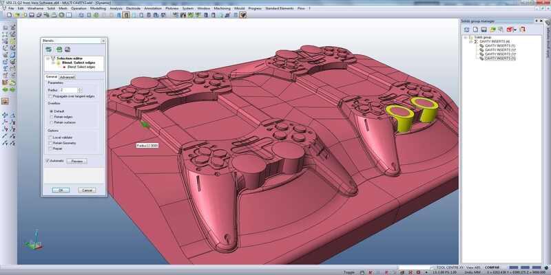 VISI CAD CAM software