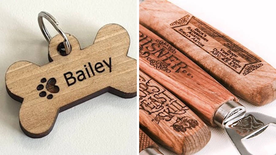 laser cut engraved gifts