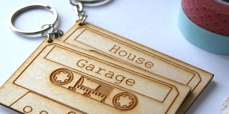 Laser Engraver Gifts - Keychains
