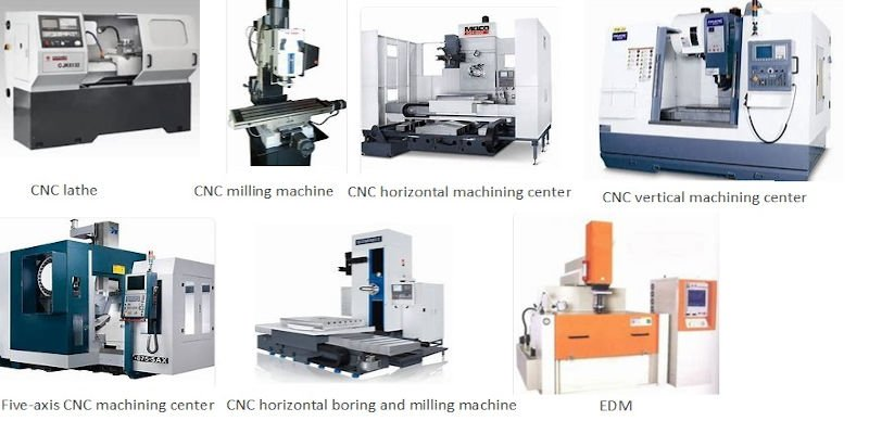 Some of the different types of CNC machines