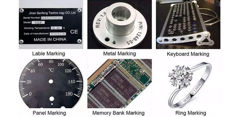 Fiber laser engraver applications