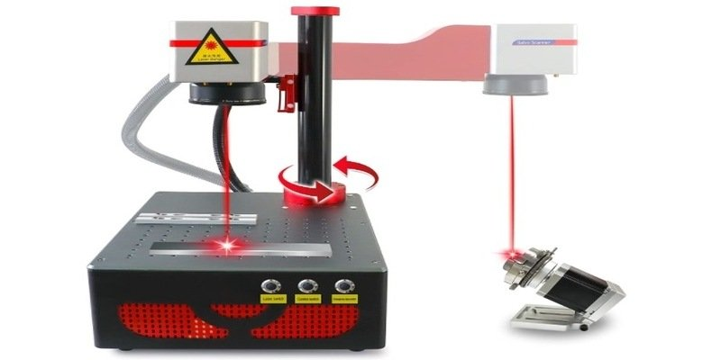 Datoubouss 20W fiber laser marking machine