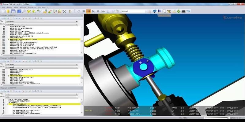Eureka G code CNC simulator