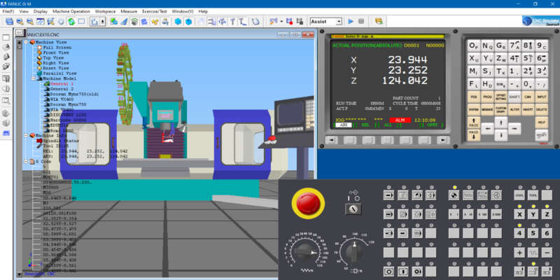 CNC simulator software