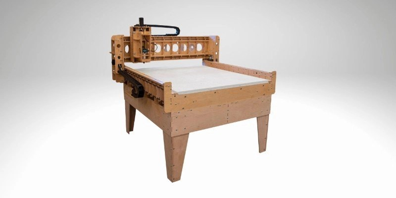 BobsCNC KL744 CNC wood machine