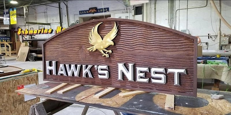 CNC Sign for Business