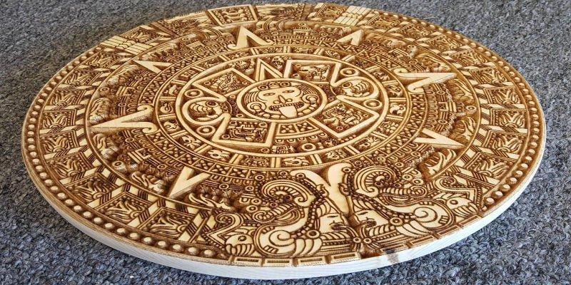 CNC Calendar Mayan