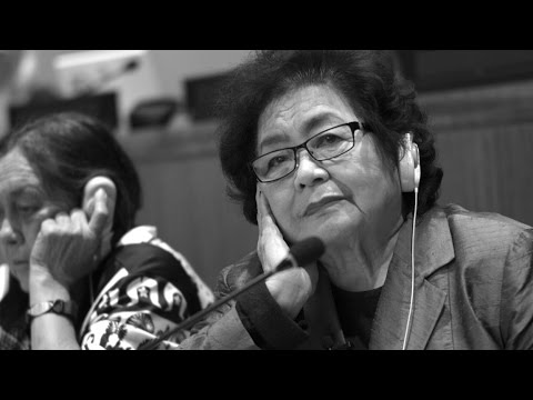 Watch: Setsuko Thurlow, survivor of nuclear bombing of Hiroshima speaking at the UN