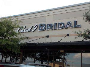 Cloud 9 Bridal Sign