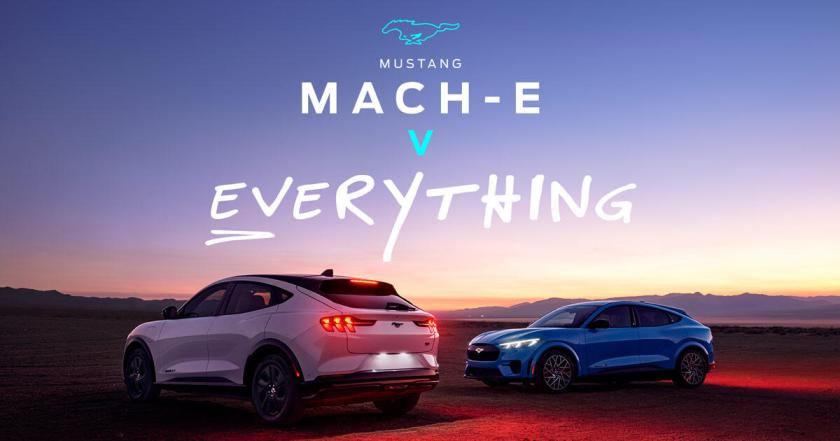 Ford Mustang Mach-E versus everything ad campaign launches - Roadshow