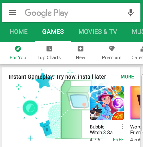 Google will let you play Android games before you download them - CNET