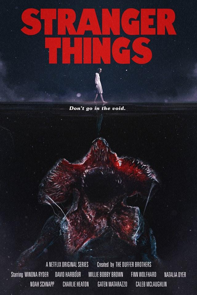 stranger things poster channels jaws