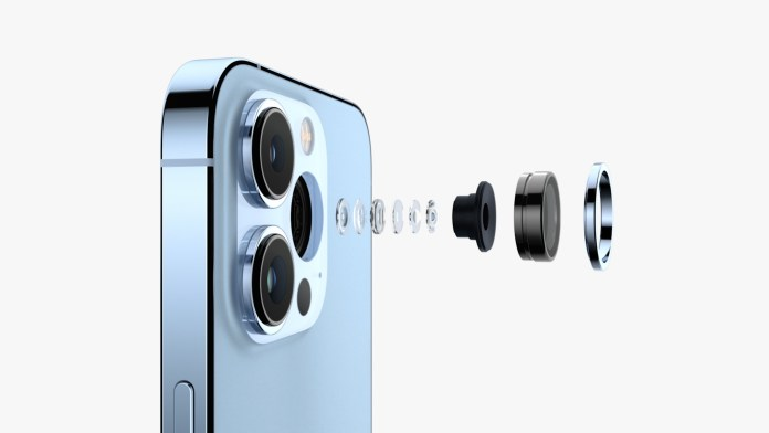 New iPhone 13 cameras at Apple event