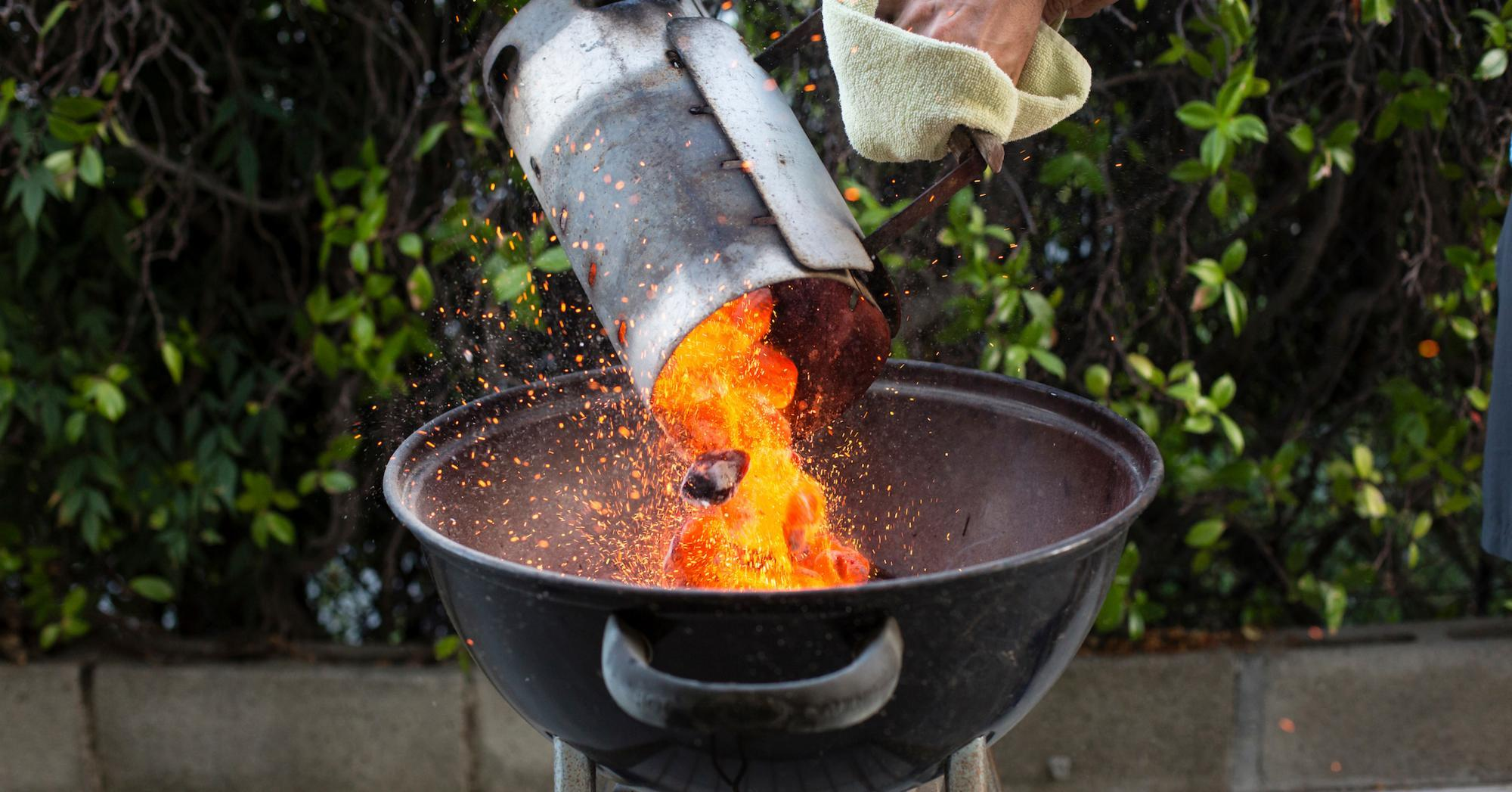 how to start a charcoal grill cnet